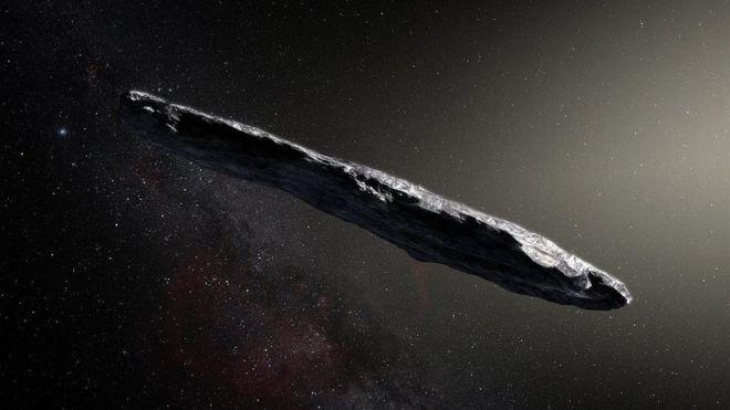 Asteroide em forma de charuto