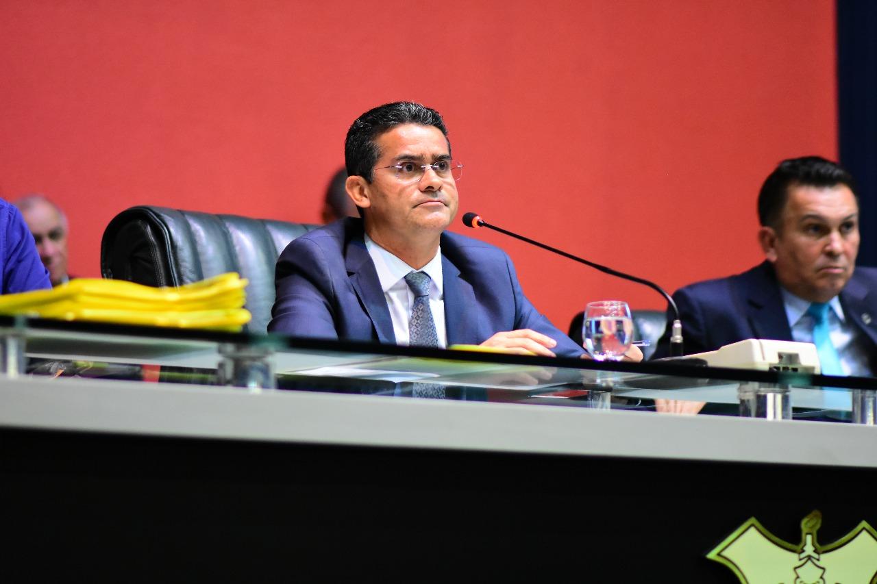 David Almeida durante votação da LOA 2018