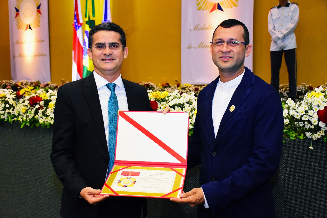 Presidente da Aleam David Almeida