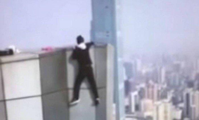 Chines que filmou propria morte