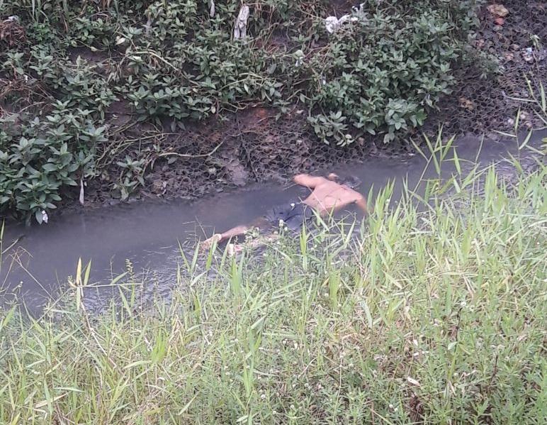 corpo encontrado em igarapé