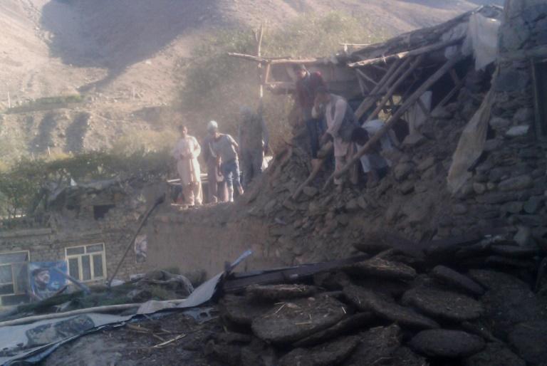 Terremoto no nordeste do Afeganistão