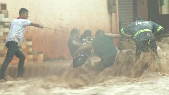Chuva em Santarém