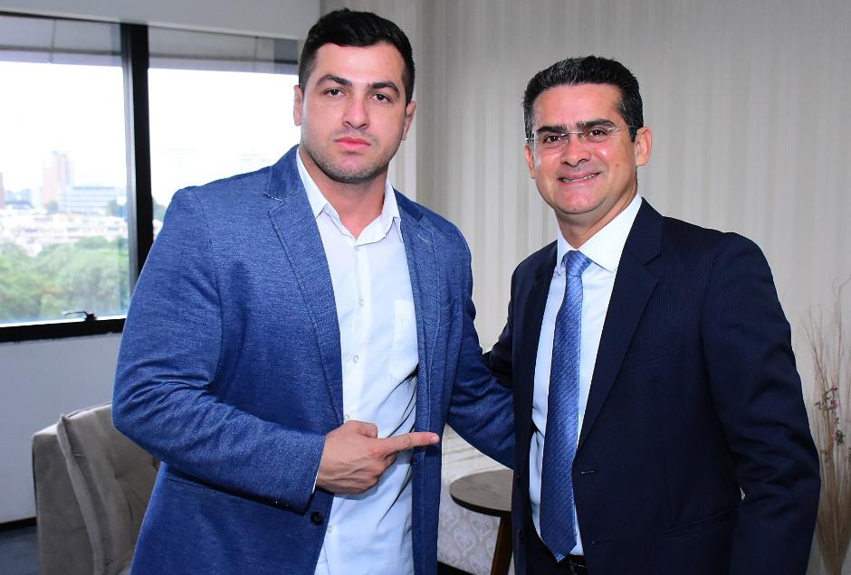 Carpê Andrade e David Almeida