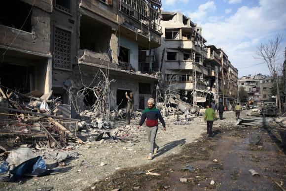 Ghouta Oriental, Síria