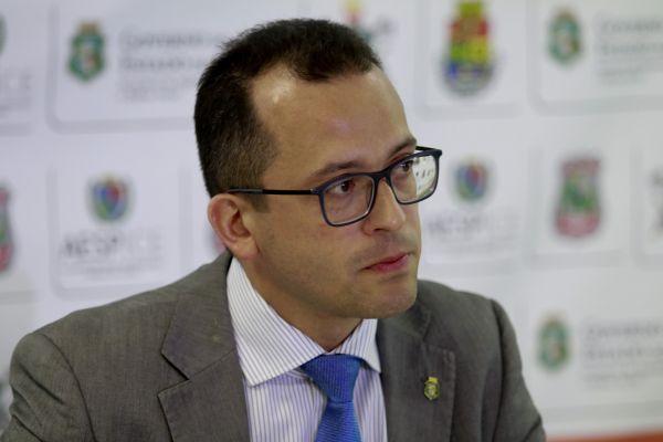 Secretário de Segurança Pública do Ceará, André Costa