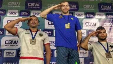 show TA 384x220 - Tenente da Policia Militar é vice-campeão brasileiro de Wrestling