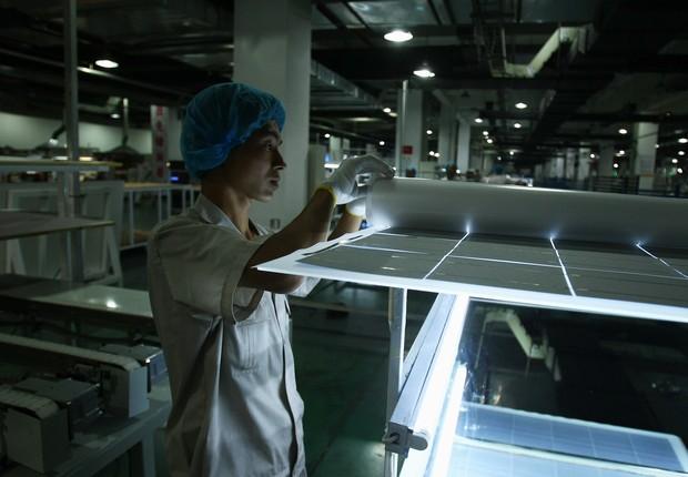 Superestrada solar na China