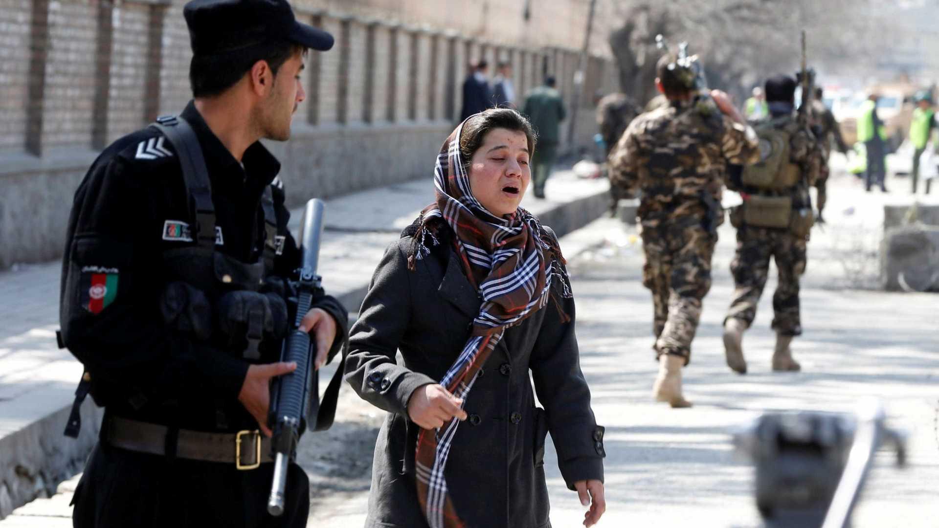 Atentado suicida em Cabul