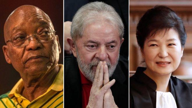 Ex-líderes mundiais presos