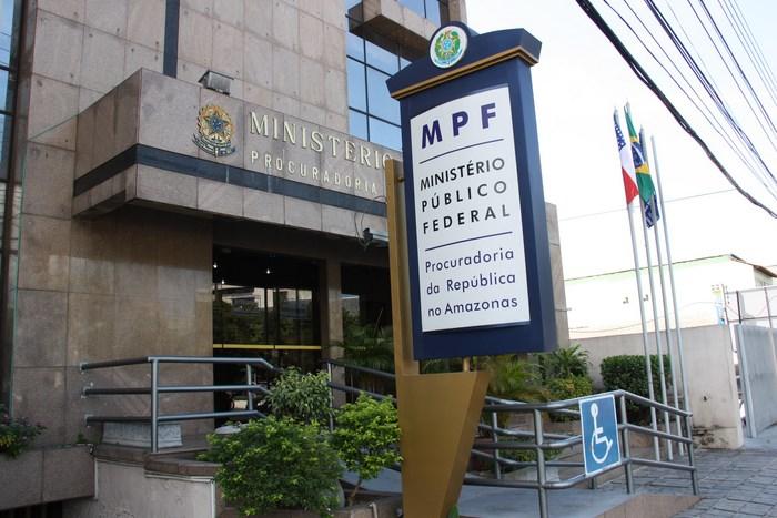 Fachada do MPF