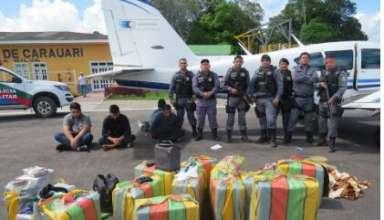 WhatsApp Image 2018 04 23 at 13.35.07 384x220 - Avião com mais de 400kg de drogas é apreendida por policiais em Carauari