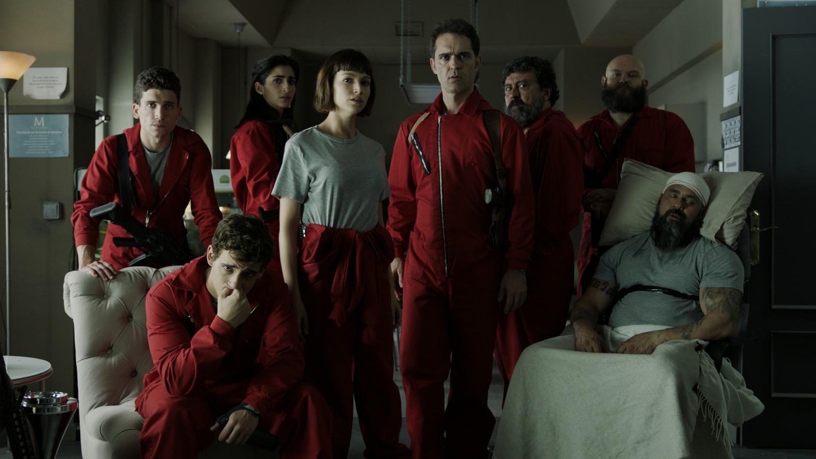 Netflix anuncia a continuação de ''La Casa de Papel''