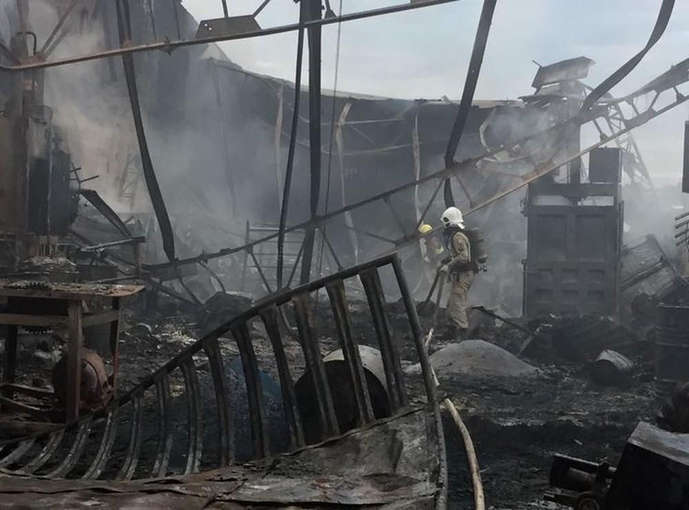 Incêndio em depósito de Manaus