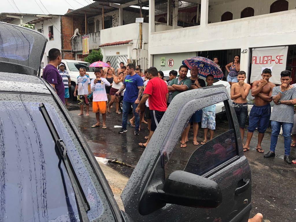 Troca de tiros em Manaus