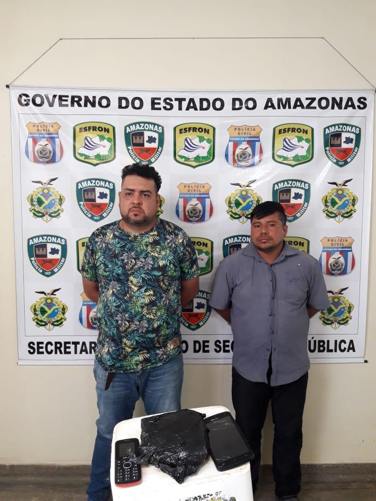 colombianos presos