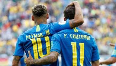 Neymar e Philippe Coutinho