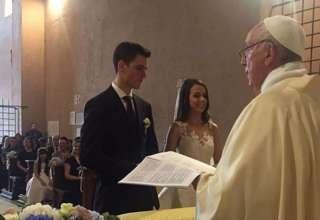 casamento no Vaticano