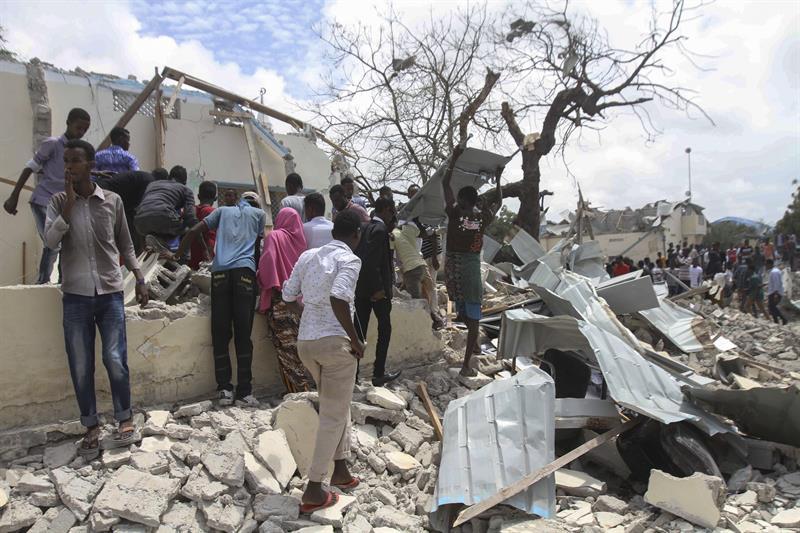 Atentado em Mogadíscio