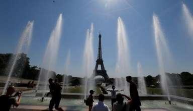 Onda de calor na França