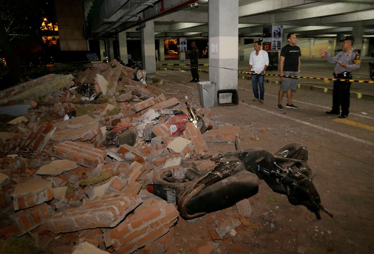 Terremoto na Indonésia