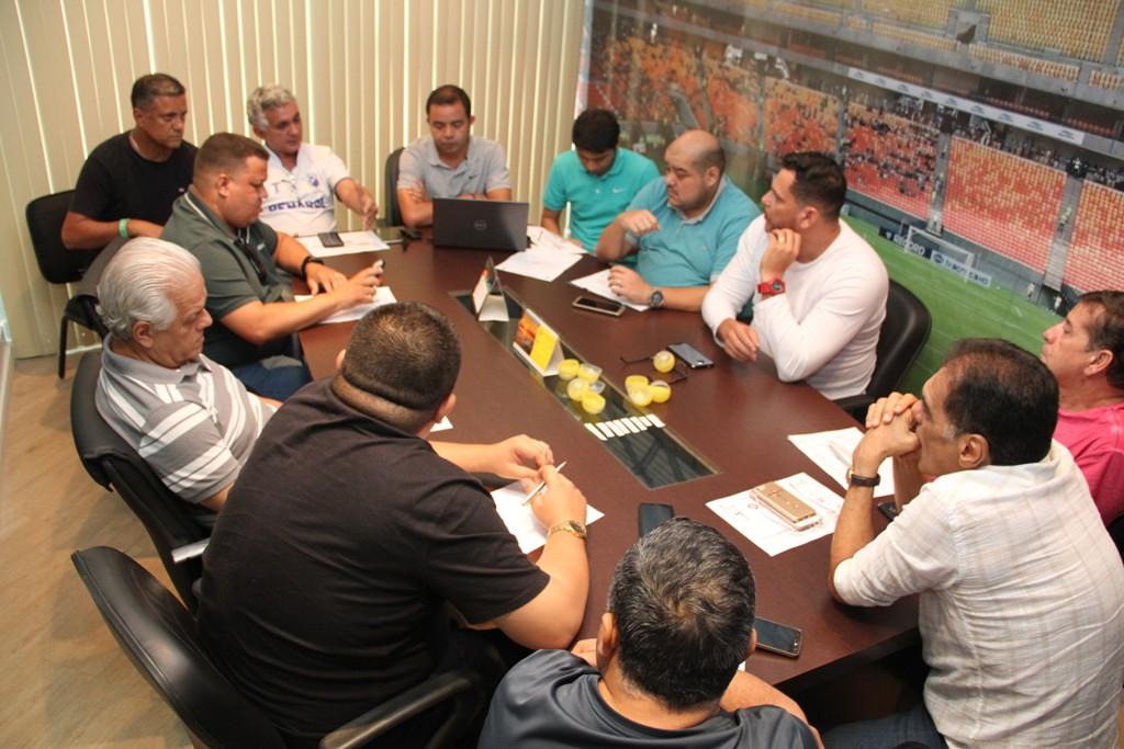 Reunião de Conselho Arbitral da FAF