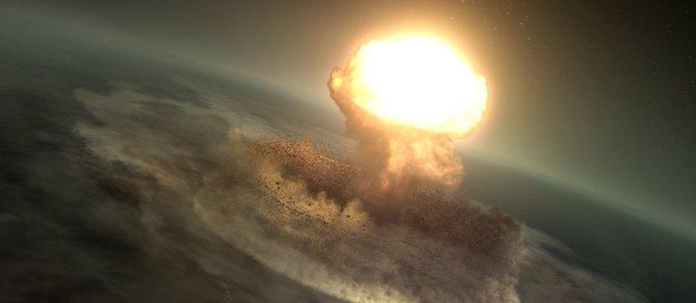 asteroide que dizimou os dinossauros
